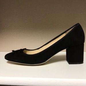 Jcrew ballet slipper block heels 8.5